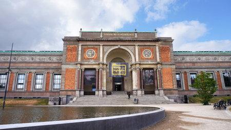 COPENHAGEN, DENMARK - MAY 31, 2017: view of the National Gallery of Denmark Statens Museum for Kunst, also known as SMK, Copenhagen, Denmark Editorial