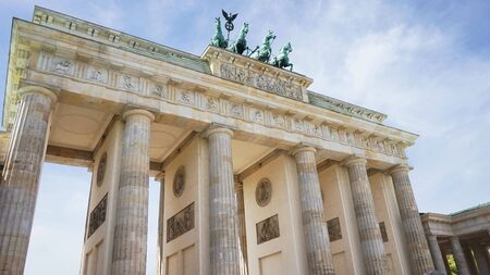 Berlin Brandenburg Gate (Brandenburger Tor), Berlin, Germany Editorial