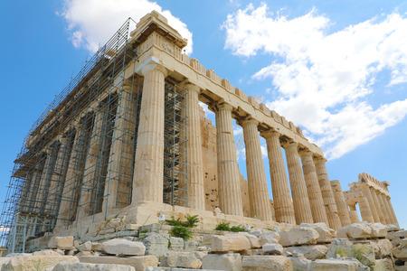 Parthenon temple on the Acropolis in Athens, GreeceParthenon temple on the Acropolis in Athens, Greece