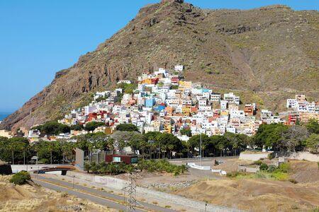 San Andres village on Tenerife Island, Spain.