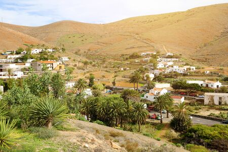 Betancuria small town view Fuerteventura, Canary Islands, Spain