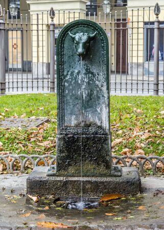 felice: Toret fountain in Piazza Carlo Felice