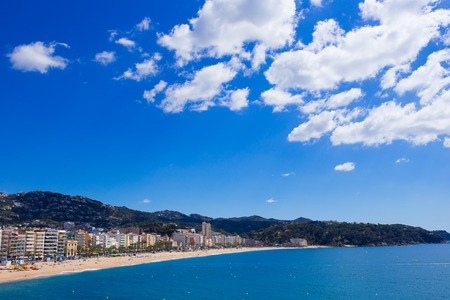 seafronts: Waterfront of LLoret de Mar. Costa Brava. Spain