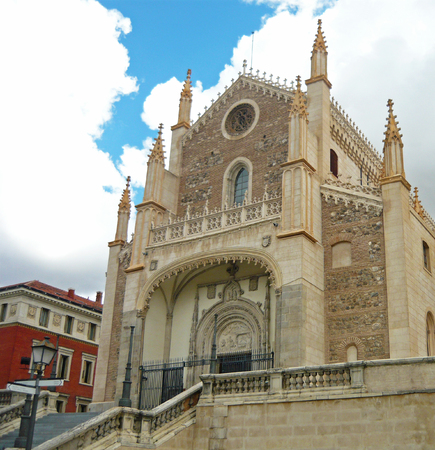 Church of San Jeronimo el Real (Madrid - Spain)