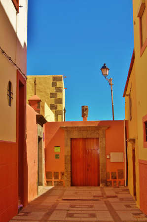 Alley in Aguimes, Grand Canary