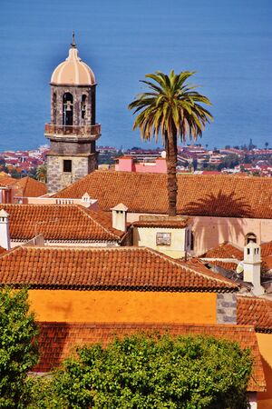 Roofs in La Orotava, Tenerife Foto de archivo