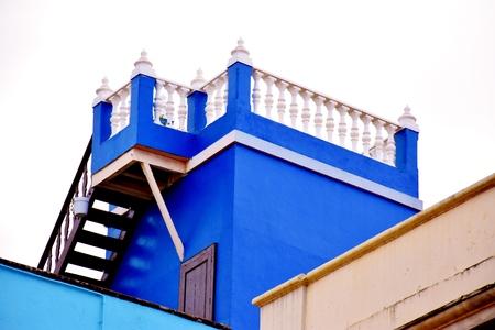 Balcony in La Orotava, Tenerife Foto de archivo