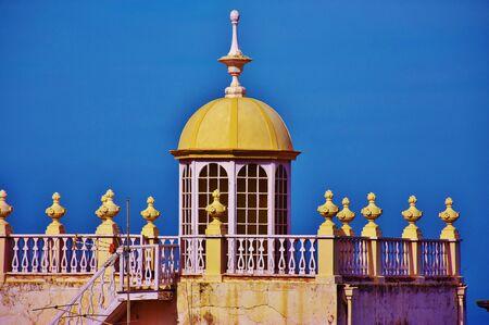 Lantern of a dome in La Orotava, Tenerife Foto de archivo