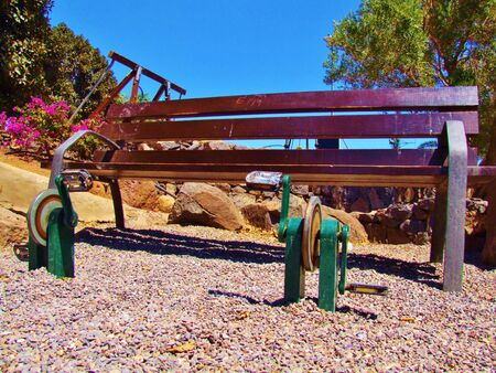 Excercise bench in Aguimes, Grand Canary