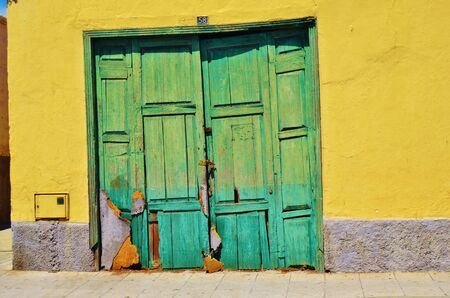 Old door in Aguimes, Grand Canary