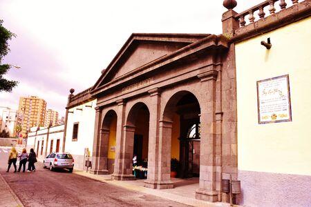 Cemetery of Vegueta in Las Palmas de Gran Canaria. January, 2018