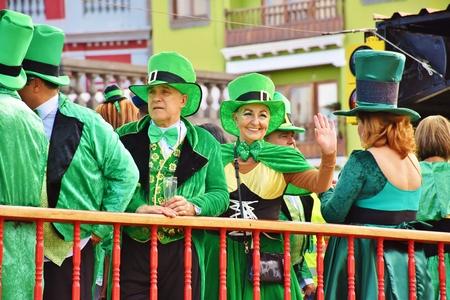 Carnaval de Las Palmas de Gran Canaria. Febrero 2018 Foto de archivo - 98328354