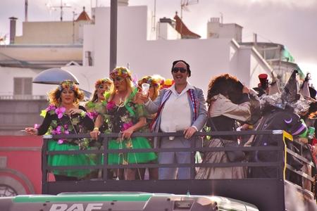 Carnival of Las Palmas de Gran Canaria. February 2018