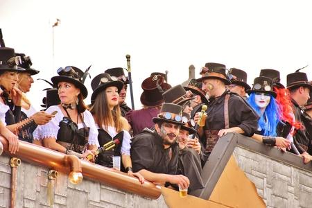 Carnaval de Las Palmas de Gran Canaria. Febrero 2018 Foto de archivo - 98328436