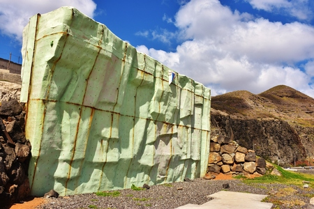 Climbing wall Foto de archivo