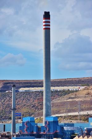 Thermal power plant chimney