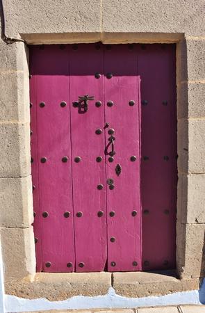 Old malow door