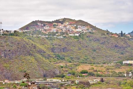 Tafira Mountain Volcano in Grand Canary Foto de archivo