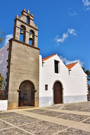 Grand Canary, Spain. 10/4/2017. Church of Saint Francis in Telde on the Saint's day