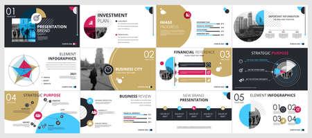 Abstract white, blue, slides. Brochure cover design. Fancy info banner frame. Creative set of infographic elements. Urban. Title sheet model set. Modern vector. Presentation templates, corporate Ilustração