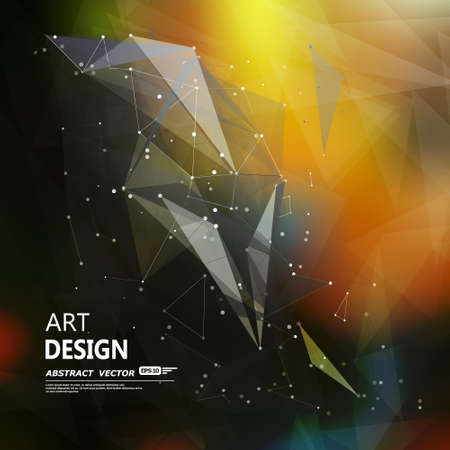Abstract composition, font texture, white cybernetic dots, title sequence, wallpaper, creative figure, intro banner form, star, points surface, outer space flyer fiber, neon matrix, EPS10