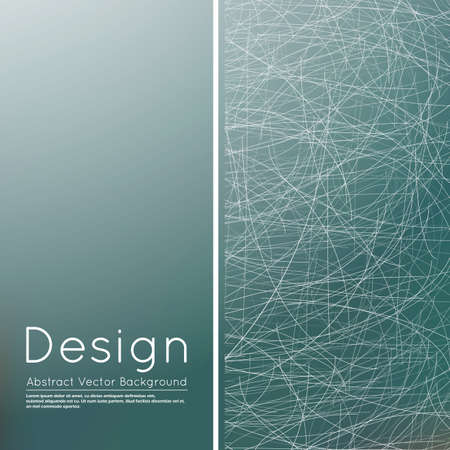 Abstract composition, text frame surface, grey wallpaper, creative figure, white lines interlacement icon, title sequence, startup display, screen saver, banner form, flier fashion, EPS10 vector 向量圖像