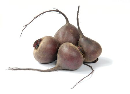 rote: Beet on a white background Stock Photo