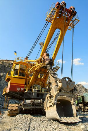The big dredge in career of iron ore photo