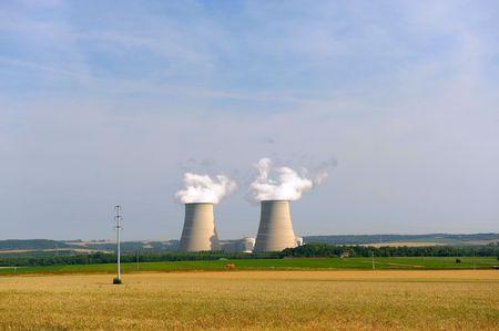 coal-burning power plant  Stock Photo - 7868386