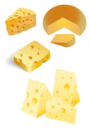 porous: piece of cheese with holes