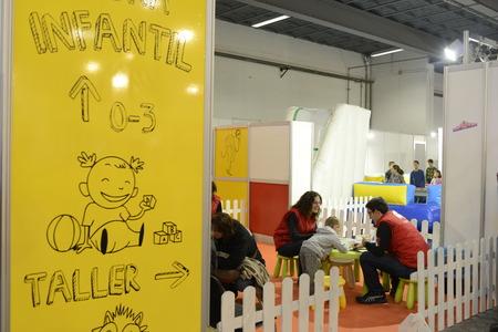 actividades recreativas: Festival de los Niños ha abierto hoy sus puertas en su 50 edición con más de un centenar de actividades divertidas para los más pequeños repartidos en 43.000 pies cuadrados del Montjuïc transitando espera 95.000 personas hasta el 4 de enero.