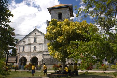 bohol: Baclayon Church (1595). Bohol.  Editorial