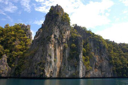風景です。エルニド。フィリピン。 写真素材