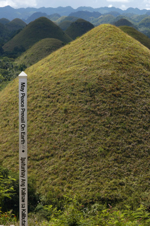bohol: Mountains Chocolate Hills. Bohol.