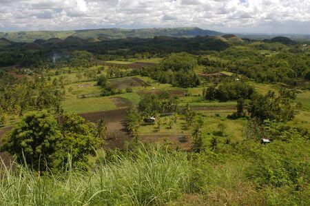 southeastern asia: Mountains Chocolate Hills. Bohol.