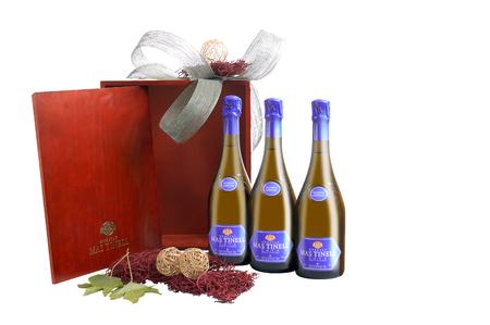 Spanish Bottle of Cava Sparkling wine.