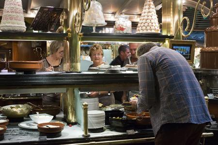 self indulgence: les Grands Buffets restaurant. Narbonne. France.