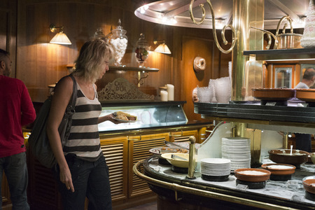 self indulgence: les Grands Buffets restaurant. Narbonne. France. TRADITION WITHOUT LIMITS! The Grands Buffets offers to take you on a journey through the great classics of French traditional cooking with foie gras (as much as you like), roast meats, tripe, kidneys, Catal