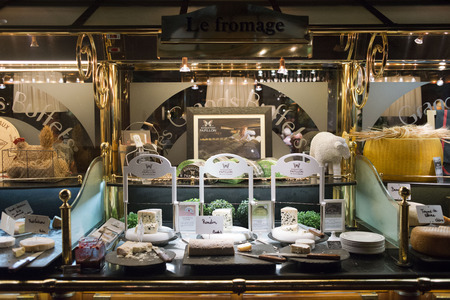 self indulgence: les Grands Buffets restaurant. Narbonne. France. TRADITION WITHOUT LIMITS! Stock Photo