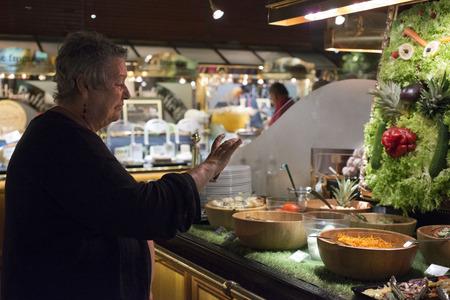 self indulgence: les Grands Buffets restaurant.
