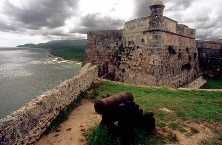 san pedro: Fortress San Pedro de la Roca or Castillo del Morro, Santiago de Cuba, Cuba, Unesco World Heritage Site