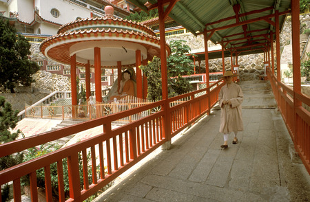 best travel destinations: Pagoda at the Kek Lok Si (Temple of Sukhavati) Buddhist Temple, Air Itam, Penang, Penang State, Malaysia.