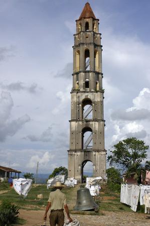 atraction: Watch tower (1816), Valle de los Ingenios, Cuba. Hazienda and Torre de Iznaga Valle de los Ingenios Prov. Sancti Spiritus Cuba.