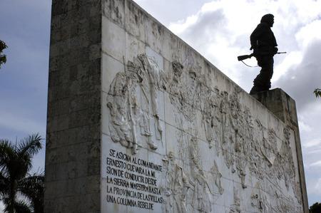 depictions: Monument and mauseleum in honour of the national hero Che Guevara, Santa Clara, Cuba.