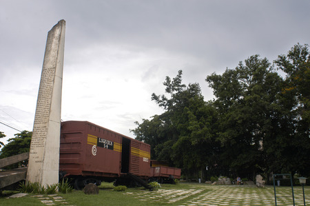 atraction: Wagon, armored Train from the Santa Claras battle, Cuba.
