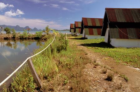 kampung: Kampung Herba Resort, Lankwai island, Kedah, Malaysia.