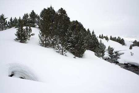Baqueira Beret, Ski resort, Pyrenees, Aran Valley, Lleida, Catalonia, Spain. Imagens