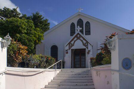 Bahamas, Eleuthera Island, Harbour Island, Dunmore Town, St, Johns Anglican Church