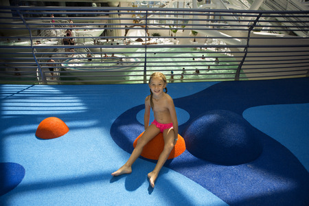 Children area Inside Caldea wellness spa resort. Escaldes-Engordany. Andorra
