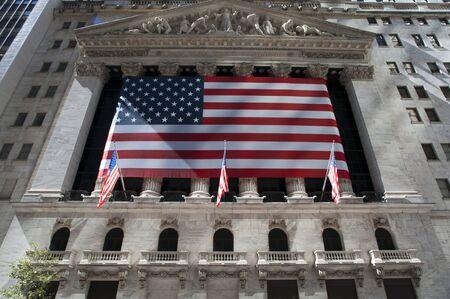 New York Stock Exchange Manhattan, Wall Street, New York Stock Photo